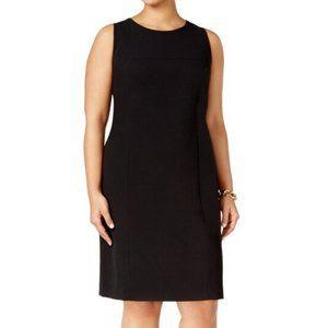 Nine West Women's Black Midi Dress